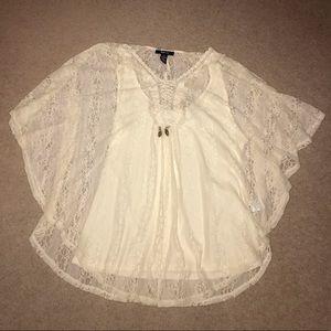 Light cream colored blouse